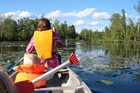 Paddla kanot